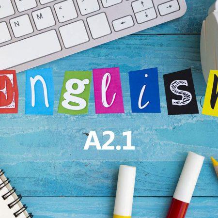 Англиски јазик А2.1